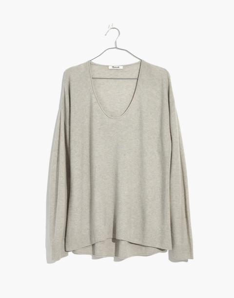 Kimball Pullover Sweater in hthr fog image 1