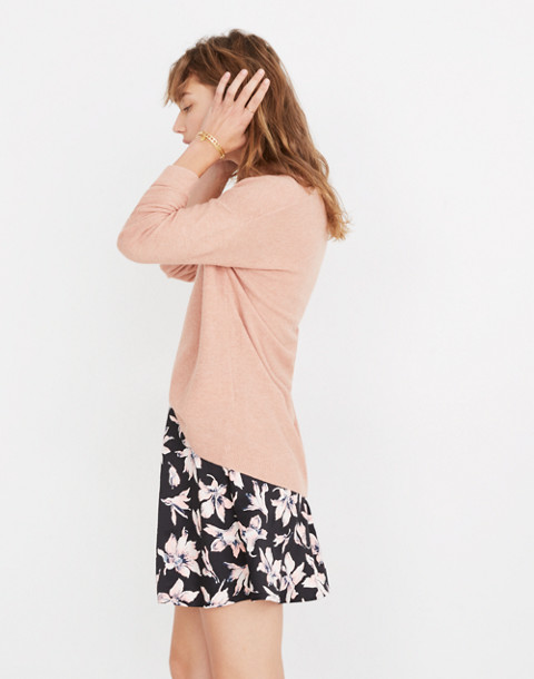 Kimball Pullover Sweater in hthr rose image 2