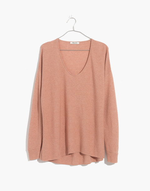Kimball Pullover Sweater in hthr rose image 4
