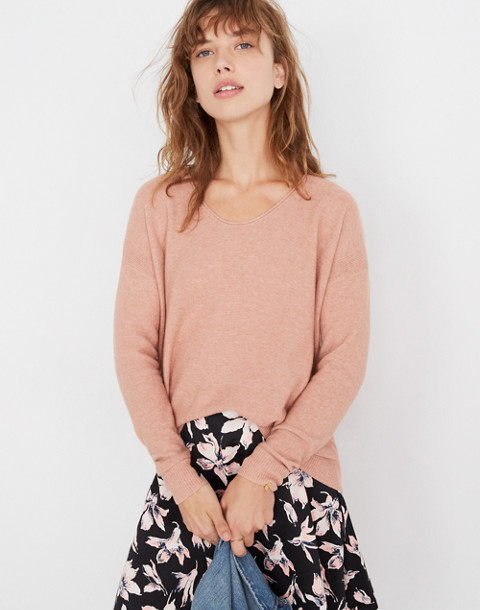 Kimball Pullover Sweater in hthr rose image 1