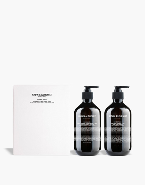 GROWN ALCHEMIST® Hand Soap and Hand Cream Twin Set