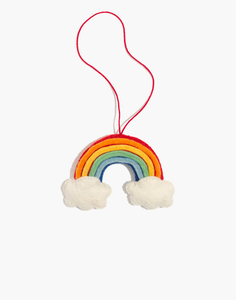 Craftspring Over the Rainbow Ornament in rainbow image 1