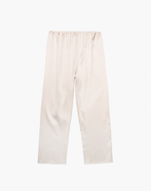 The Great Eros® Silk Odessa Crop Pants in natural image 4