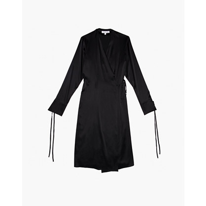 The Great Eros® Silk Ereni French-Cuff Wrap Dress
