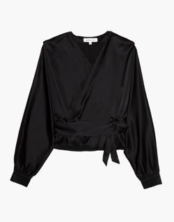 The Great Eros® Silk Ereni Wrap Top