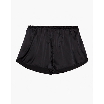 The Great Eros® Silk Ereni High-Waisted Shorts