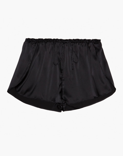 The Great Eros® Silk Ereni High-Waisted Shorts