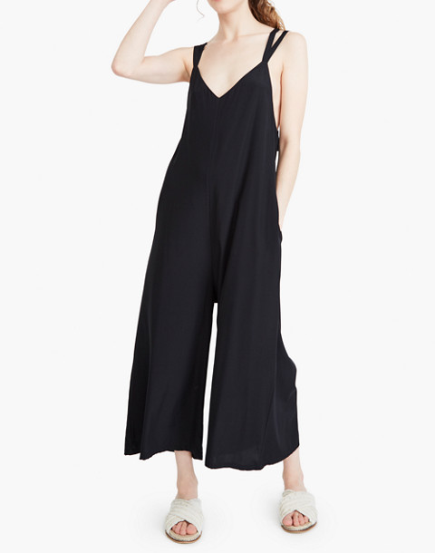 The Great Eros® Silk Ereni Tie-Back Jumpsuit