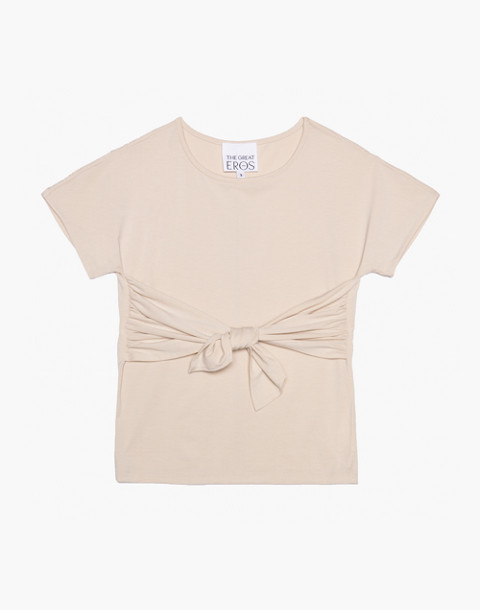 The Great Eros® Tilia Knot-Front Tee