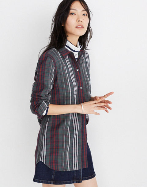 Classic Ex-Boyfriend Shirt in Rockvale Plaid in olympia plaid architect image 2