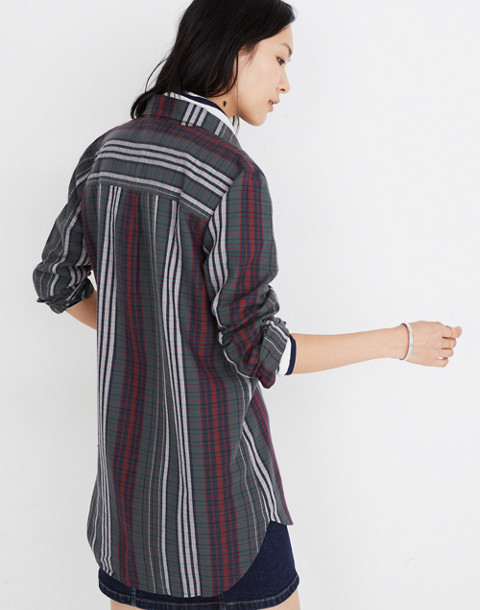 Classic Ex-Boyfriend Shirt in Rockvale Plaid in olympia plaid architect image 3