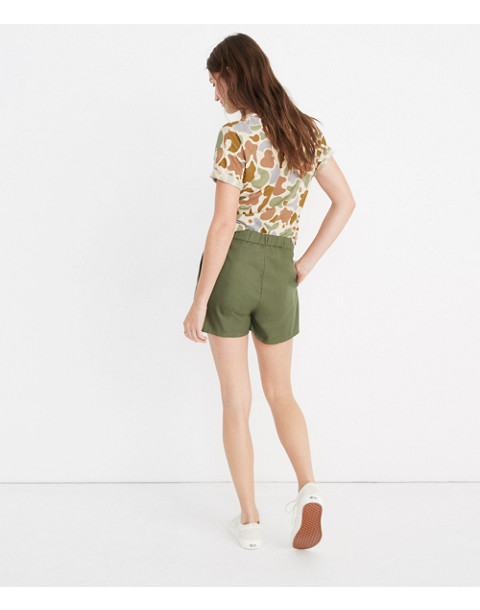 Pull-On Shorts in palm tree image 3