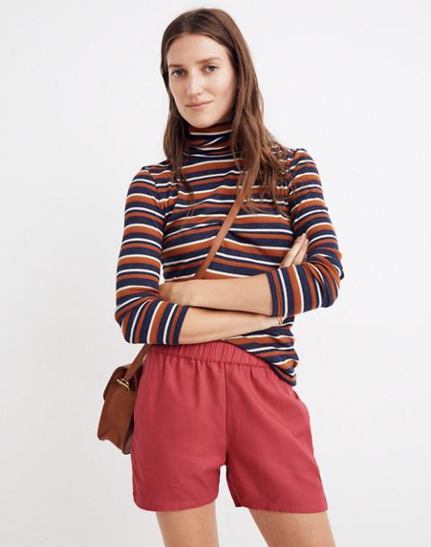 Pull-On Shorts in dark rosette image 2