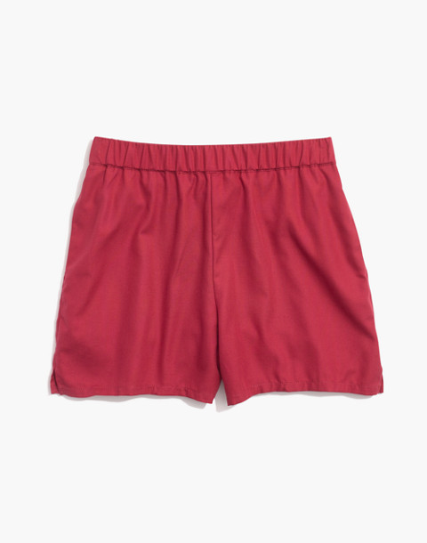 Pull-On Shorts in dark rosette image 4