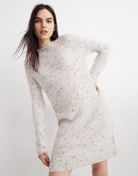 Donegal Northfield Mockneck Sweater-Dress in Coziest Yarn in donegal smoke image 1