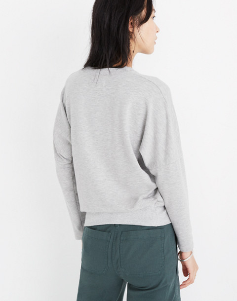 Rivet & Thread Relaxed Sweatshirt in hthr smoke image 3