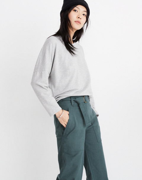 Rivet & Thread Relaxed Sweatshirt in hthr smoke image 1