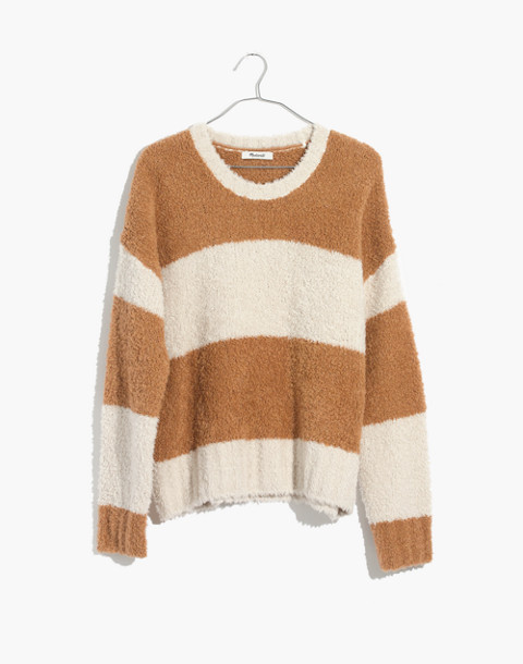 Teddy Striped Pullover