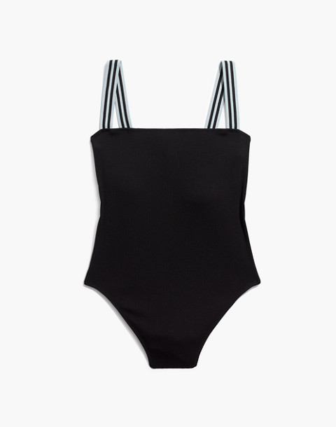 Solid & Striped® Riley One-Piece Swimsuit in black image 4
