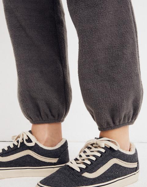 Fleece Pajama Sweatpants in dark metal image 2