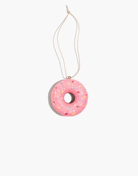 Cody Foster™ Donut Ornament in pink image 1