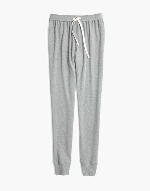 Honeycomb Pajama Sweatpants in hthr pepper image 4