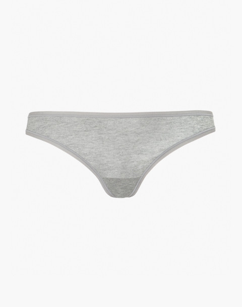 LIVELY™ All-Day Thong in Heather Grey