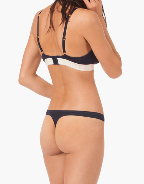 LIVELY™ All-Day Thong in blue image 2