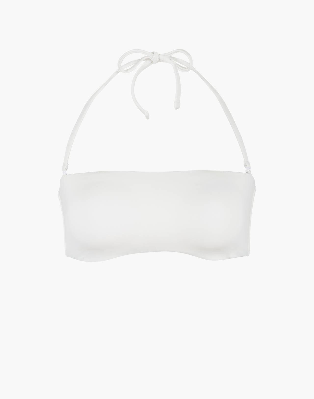 LIVELY™ Bandeau Bikini Top in white image 3