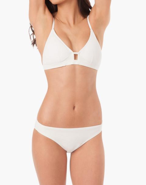 LIVELY™ Bralette Bikini Top in white image 1