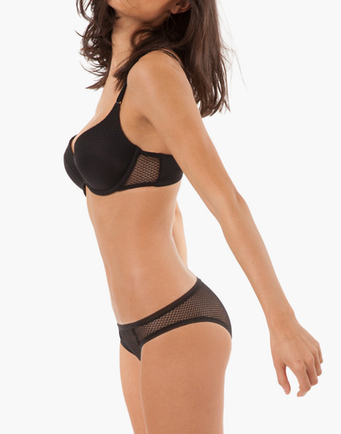 LIVELY™ Geo Lace Bikini in black image 2
