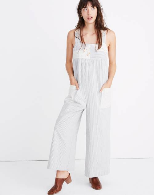 Madewell X The New Denim Project® Patchwork Jumpsuit by Madewell
