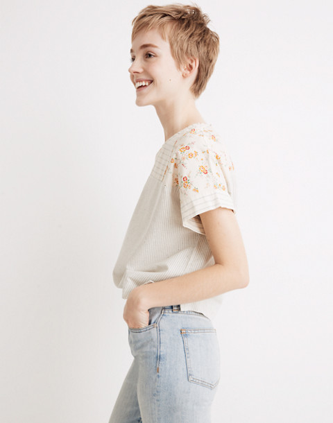 Madewell X The New Denim Project® Patchwork Top by Madewell