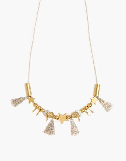 Star And Moon Do It Yourself Necklace Kit by Madewell