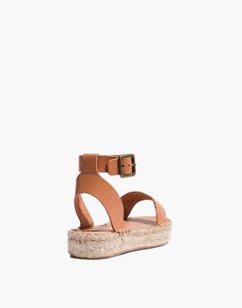 Soludos® Flatform Cadiz Sandals in nude image 3