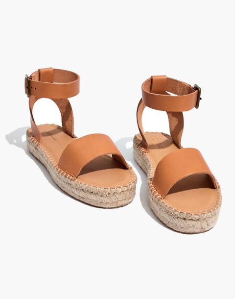 Soludos® Flatform Cadiz Sandals in nude image 1