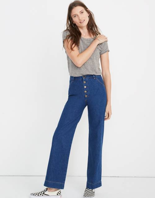 M.I.H® Paradise High Rise Straight Jeans by Madewell