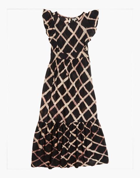 The Odells™ Tie-Dye Seville Ruffle Maxi Dress