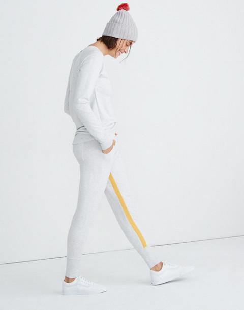 Splits59™ Apres Sweatpants in heather white/marigold image 2