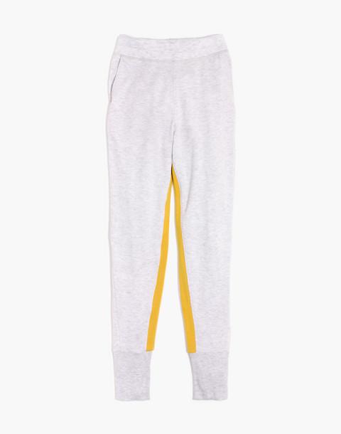 Splits59™ Apres Sweatpants in heather white/marigold image 4
