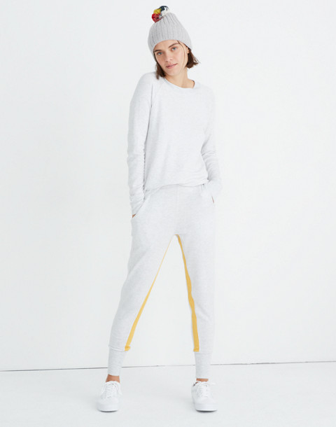 Splits59™ Apres Sweatpants in heather white/marigold image 1
