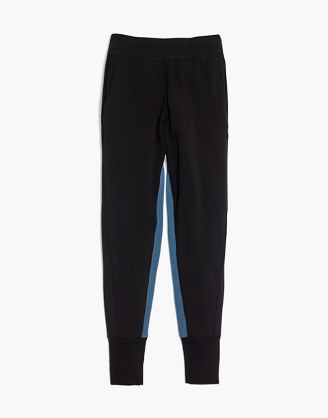 Splits59™ Apres Sweatpants in black/dusty blue image 1