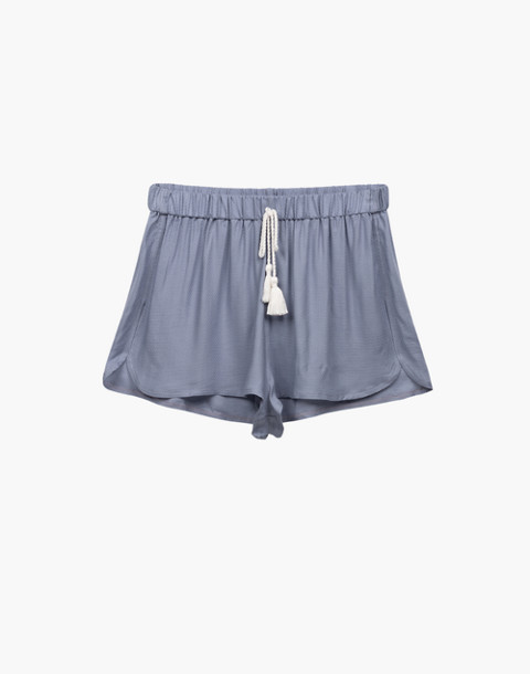 Negative® Supreme Sleep Shorts Pajama Set in gray image 1