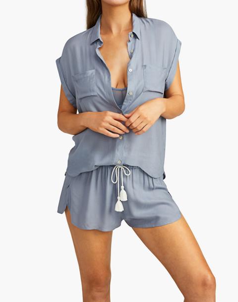 Negative® Supreme Sleep Shorts Pajama Set in gray image 2