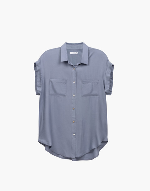 Negative® Supreme Sleep Shorts Pajama Set in gray image 3
