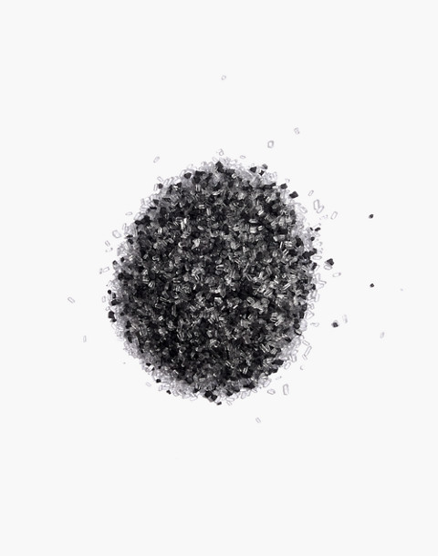 Kismet Coffee Chill Black Lava Salt Bath Soak in black lava image 2