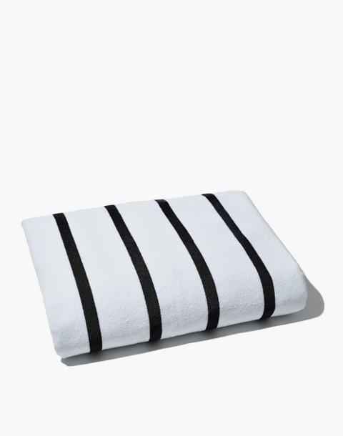 SNOWE™ Beach Towel in black image 2