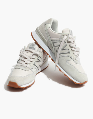 New Balance® 696 Runner Sneakers in ivory image 1