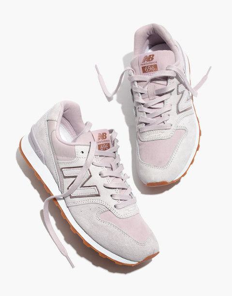 New Balance® 696 Runner Sneakers in pink image 1