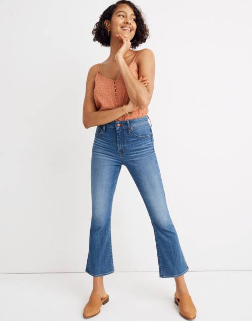 Tall Curvy Cali Demi Boot Jeans In Tierney Wash: Eco Edition by Madewell